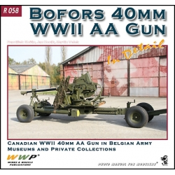 Bofors 40mm WWII AA Gun in detail