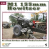 M1 155 mm Howitzer in detail