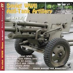 Soviet WWII Anti-Tank Artillery in detail