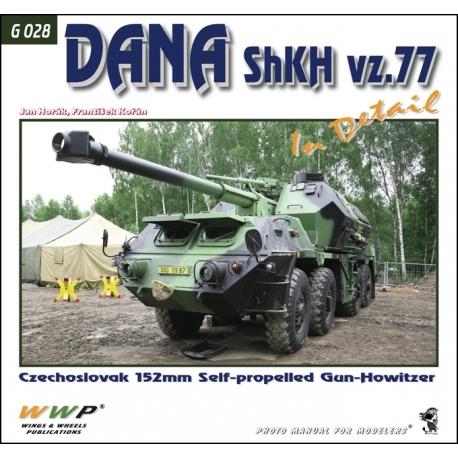 DANA ShKH vz. 77 in detail