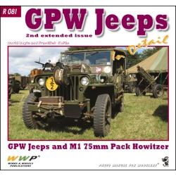 GPW Jeeps in detail
