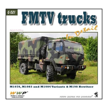 FMTV truck in detail