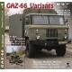 GAZ-66 Variants in detail