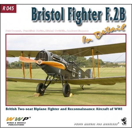 Bristol Fighter F.2B in detail
