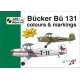 Bücker Bü 131 colours and markings