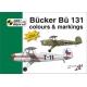 Bücker Bü 131 colours and markings