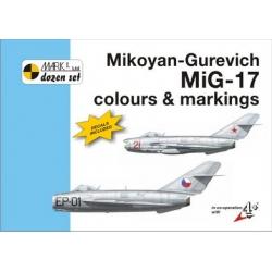 Mikoyan-Gurevich MiG-17 Fresco colours and markings