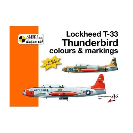Lockheed T-33 Thunderbird colours and markings