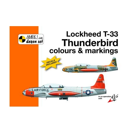 Lockheed T-33 Thunderbird colours and markings