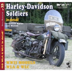 Harley Davidson Soldiers in detail