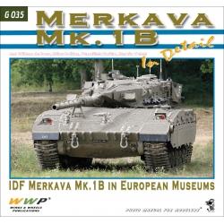 Merkava Mk. 1B in detail