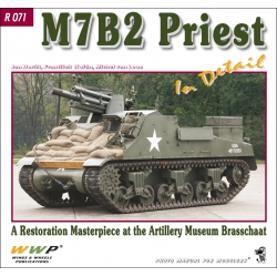 M7B2 Priest in detail
