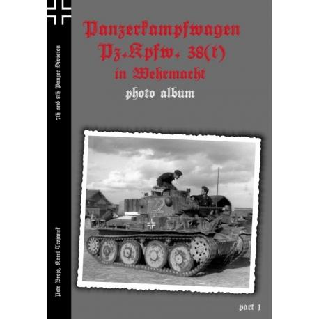 Pz.Kpfw. 38(t) in Wehrmacht fotoalbum, part 1
