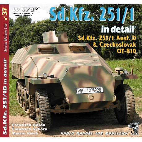 Sd. Kfz. 251/1 in detail