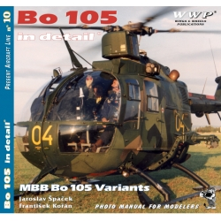 Bo-105 in detail