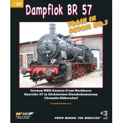 BR 57 German Dampflok in detail