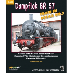 BR 57 German Dampflok in detail