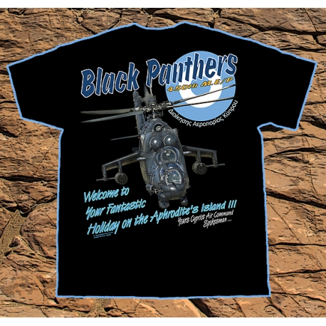 T-shirt Black Panthers