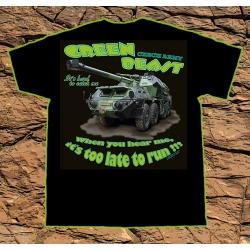T-shirt Green Beast