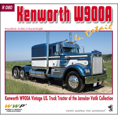 Kenworth W900A Truck Tractor in detail