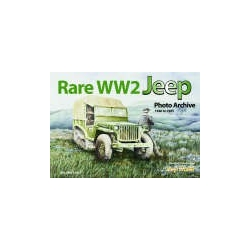 Rare WW2 Jeep Photo Archive 1940 to 1945