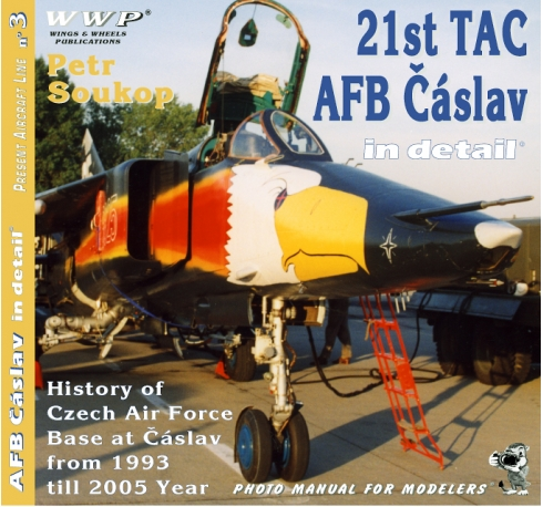 21st TAC AFB Čáslav in detail
