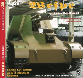 Sd.Kfz 124 Wespe in detail