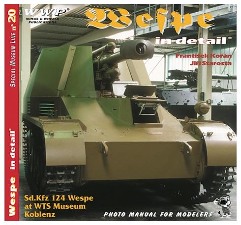 Sd.Kfz 124 Wespe in detail