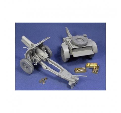 4,5inch Howitzer & limber
