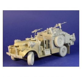 "LRDG Heavy Weapon vehicle ""LATE"""