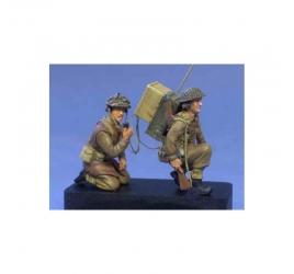 Infantry radio team