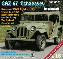 Gaz-67 Tchapayev in detail