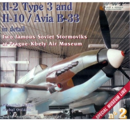 Il-2 Type 3 and Il-10 Avia B33 in detail