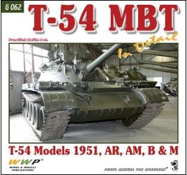 T-54 MBTin detail