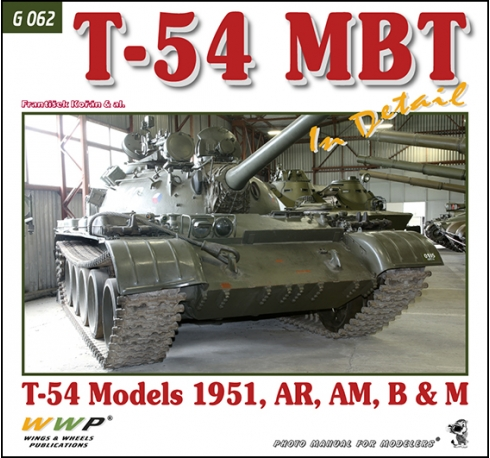 T-54 MBT in detail