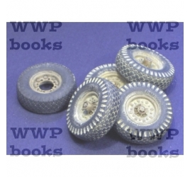 Wheels for Tamiya LRDG Chevrolet