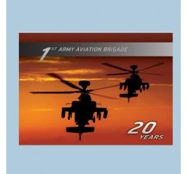 1st Army Aviation Brigade - 20 years