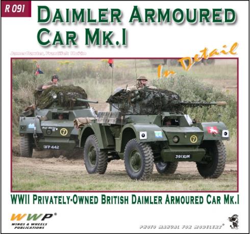Daimler AC Mk. I in detail